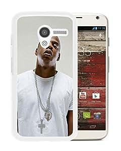 Popular Custom Designed Cover Case With Rapper Jay Z White For Motorola Moto X Phone Case