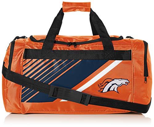 Denver Broncos Border Stripe Duffle Bag