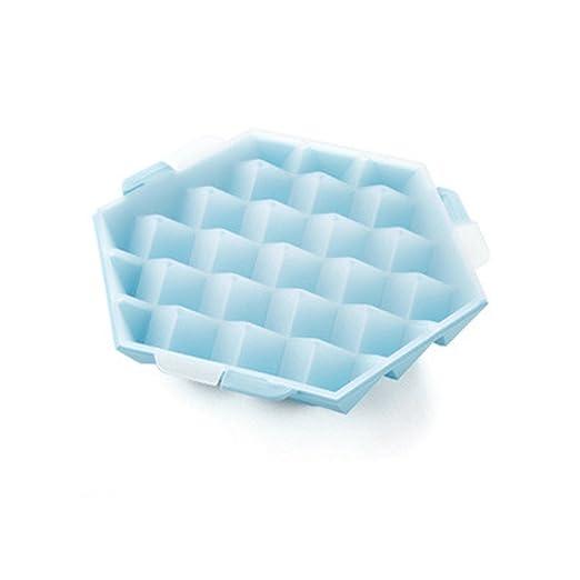 Compra yiliay forma cuadrada hielo congelador Ice Cube bandejas de ...