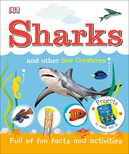 Sea Activity Book Animals (Sharks and Other Sea Creatures)