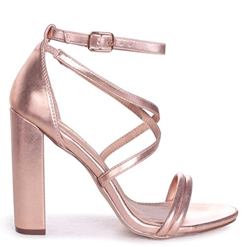 Heel Block Rose up Lace Multi Rosegold wear Taryn Gold x1Uqw0Pqf