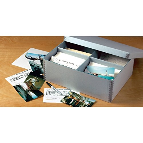 - Gaylord Archival High-Capacity Photo Preservation Box with Envelopes