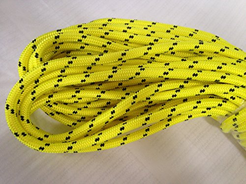1/2'' By 100' Arborist Rigging Rope, Yellow by Blue Ox Rope (Image #2)