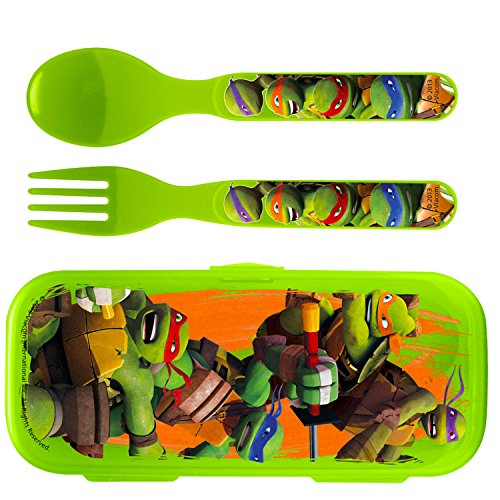 Zak! Teenage Mutant Ninja Turtles Flatware Set for Kids Toddlers