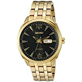 Seiko Men's SNKN48 RECRAFT Automatic Analog Display Japanese Automatic Gold Watch
