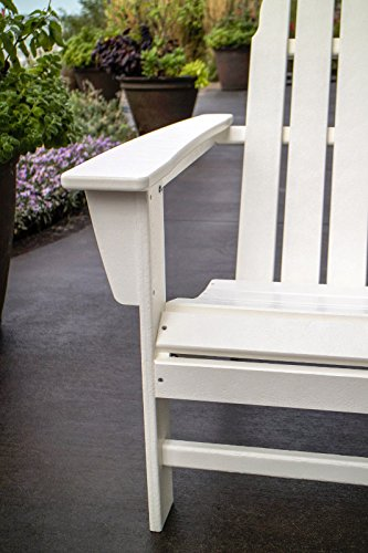 POLYWOOD Vineyard Adirondack Chair (White)