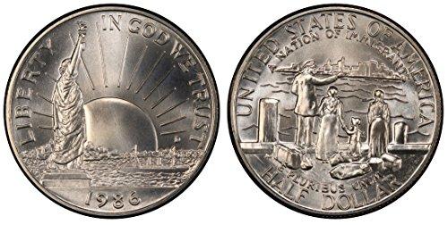 1986 S Walking Liberty Half Dollar $.50 Brilliant Uncirculated ()