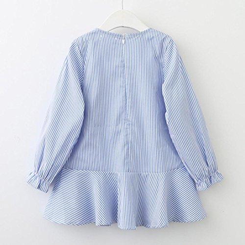 970884a1f15 DAY8 Fille 2 à 7 Ans Vetement Robe Princesse Chic Hiver Robe Soirée Fille  Chic ete pas ...