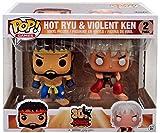 Funko POP! Hot Ryu & Violent Ken 30th Anniversary Street Fighter 2 Pack
