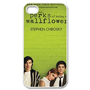 ByHeart The Perks of Being a Wallflower Hard Back Case Skin for Apple iPhone 4 and 4S - 1 Pack - Retail Packaging - 793