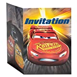 Disney Cars Party Invitations, 8ct