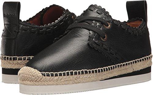 See By Chloe Womens Glyn Calf Sneaker Black