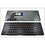 Genuine New US Laptop Keyboard with Frame for HP Pavilion 15E 15N 15T 15-N 15-E 15-E000 15-N000 15-N100 Black || 708168-001 710248-001 9Z.N9HSQ.001 R65 SN7130 V140546AS1 749658-001 719853-001