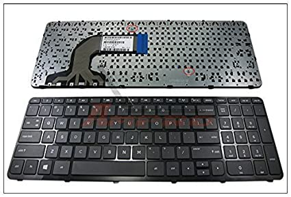 Genuine New US Laptop Keyboard with Frame for HP Pavilion 15E 15N 15T 15-N