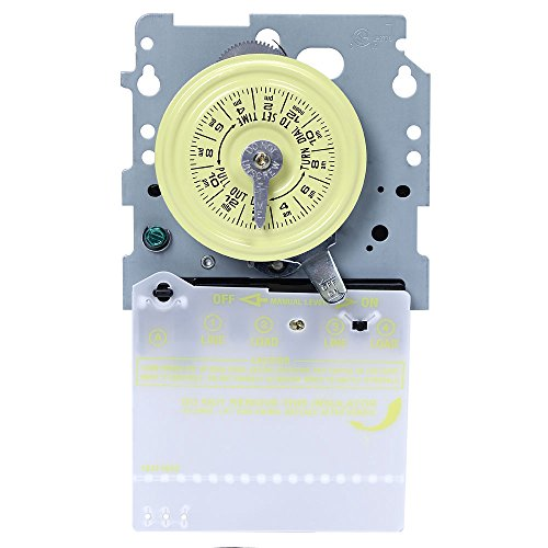 Intermatic T104M Mechanical Time Switch Mechanism Only (Dpst Time Mechanical Switch)