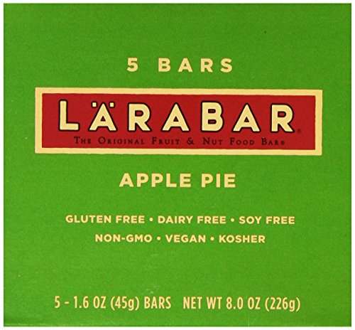 LaraBar Fruits et noix Food Bar, Apple Pie, sans gluten 1,6 onces, 5 comptage