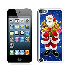 Personalized Hard Shell Santa Claus White For Iphone 4/4S Cover 7