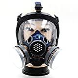 YCRD Gas Mask Steam Full Protective Spray Paint Chemical Anti-Formaldehyde Pesticide Anti-Virus With Activated Carbon Respirator