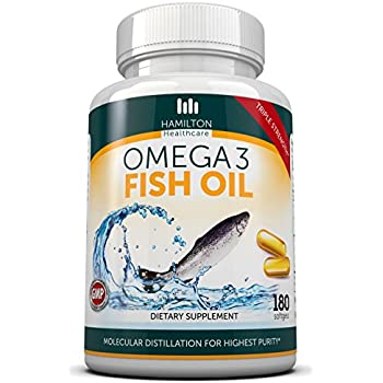 Triple strength omega 3 fish oil 180 softgels for Viva naturals triple strength omega 3 fish oil