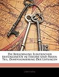 Die Berechnung Elektrischer Leitungsnetze in Theorie und Praxis, Josef Herzog, 1144655021