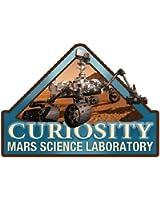 Mars Curiosity Lapel Pin