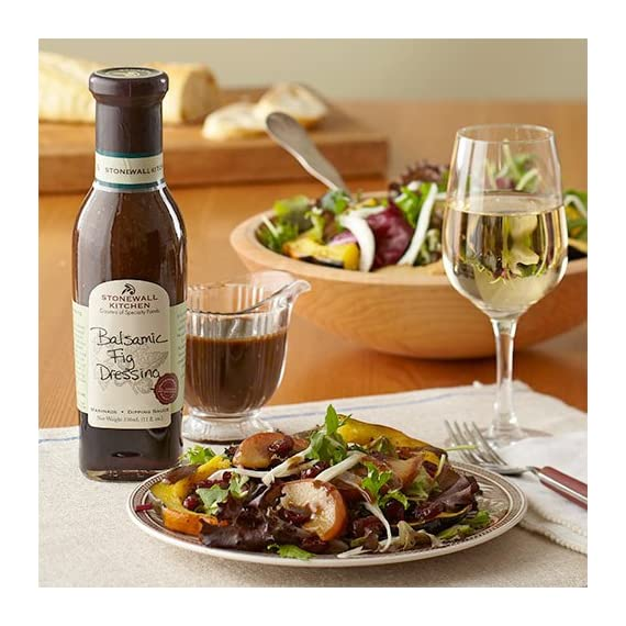 Stonewall Kitchen Dressing, Balsamic Fig, 11 Ounce 3 Stonewall Kitchen Dressing, Classic Greek, 11 Ounce A must for the well-stocked pantry; Convenient and flavorful Includes 1 Stonewall Kitchen Dressing, Classic Greek (11 oz.)