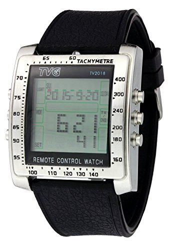 multifunctional-rectangle-remote-control-alarm-tv-dvd-men-steel-rubber-strap-sports-wrist-watch