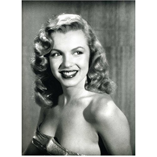 - Marilyn Monroe Wearing Lowcut Dress with Big Smile Close Up 8 x 10 Inch Photo