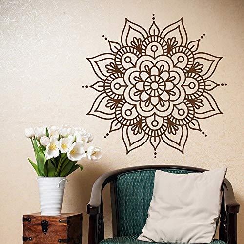 Mandala Tatuajes de Pared Dormitorio Yoga Etiqueta de la Pared ...