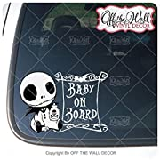 Baby Jack  BABY ON BOARD  Sign Vinyl Decal Sticker for Cars / Trucks