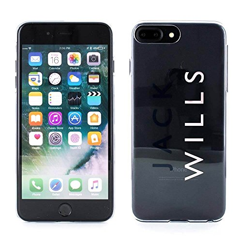 iPhone 7 Plus / 6 Plus Cover, Jack Wills BIRLING Glossy Hard Shell Phone Case for Apple iPhone 7 Plus / 6 Plus