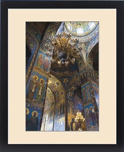 Framed Print of Russia, Saint Petersburg, Center, Church of the Saviour of Spilled Blood by Fine Art Storehouse