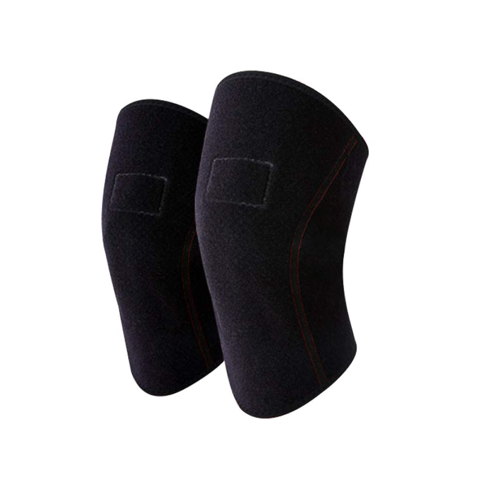 TY BEI Kneepad Warm Knee Pads Men and Women Self-Heating Thickening Joint Knee Support - Size Two Size Optional @@ (Size : Small)