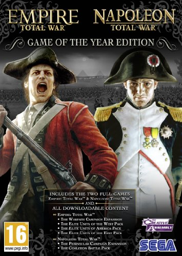 Empire and Napoleon Total War Collection - Game of the Year (PC DVD) [UK IMPORT] (The Last Of Us Game Of The Year)