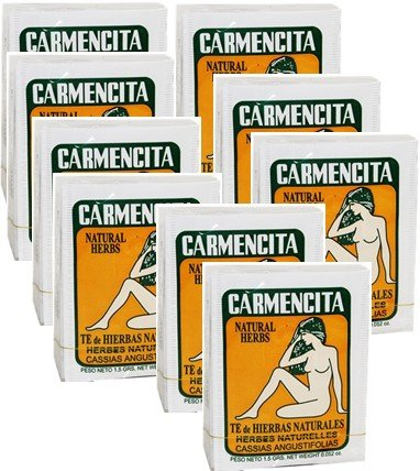 Carmencita Herbs Tea. Pack of 90 tea bags by CubanFoodMarket