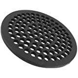 Storm Drain Fsd 084 R 8 Quot Round Drain Grate Black Pipe