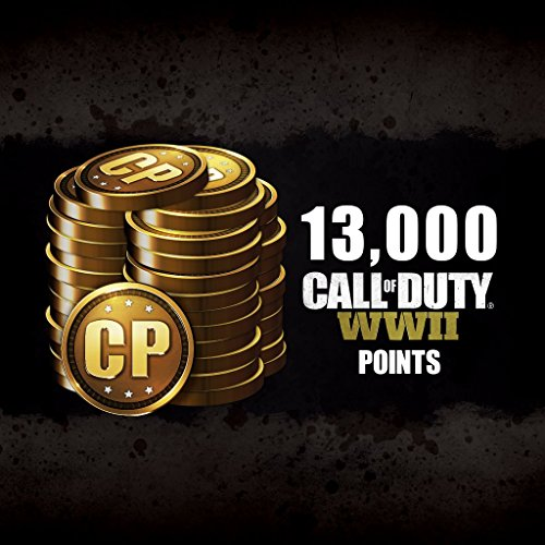 Call of Duty: WWII: Call of Duty: WWII - 13000 COD Points - PS4 [Digital Code]