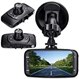 digitsea 2.7″ 1080P HD TFT Screen Car DVR Vehicle Camera Video Recorder camcorder Road Dash Cam GS 8000 with HDMI interface wide-angle Night Vision and Motion Detection