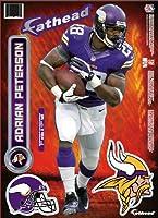"Minnesota Vikings Adrian Peterson Fathead Teammate- 7""x17"""