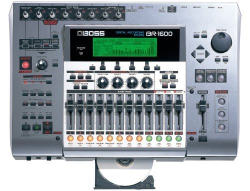 BOSS Roland BR-1600 br1600CD Digital Recording Studio perfect working order!