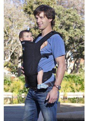 Amazon.com : Boba 3G Carrier - Pinstripe Special Edition Diaper Dude : Child Carrier Products : Baby