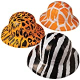 U.S. Toy Animal Print Safari Hats (assorted colors, 1 unit per order)