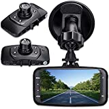 digitsea Novatek 96220 wide-angle 2.7LCD 1080P HD Car DVR Vehicle Camera Video Recorder camcorder Road Dash Cam GS8000 12V-24V input truck charger/HDMI interface (DVR without storage card)
