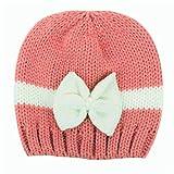 HANYI Newborn Baby Girl Boy Infant Toddler Knitting Wool Crochet Hat Soft Hat Cap