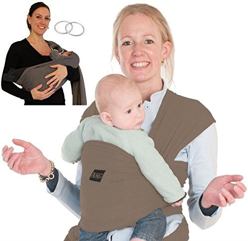 Cotton Baby Ring Sling Carrier - 8