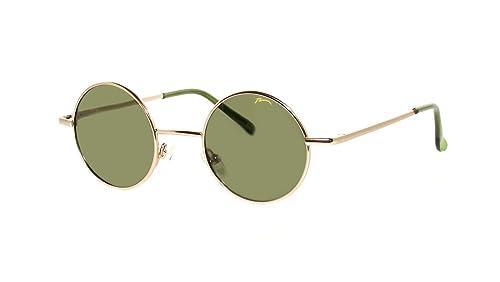 Occhiali da Sole John Unisex Rotonde Stile 'Lennon' / Polarizzato /R2317
