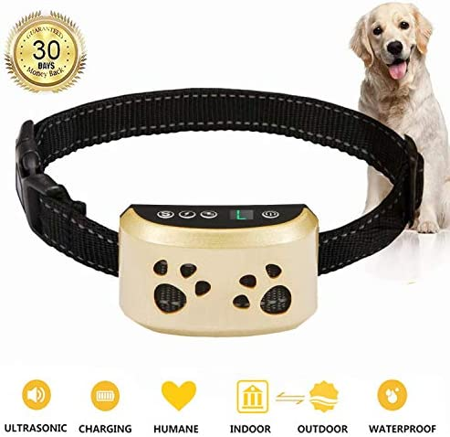 BeiBeiDan Dog Bark Collar-7 Adjustable Sensitivity and Intensity Levels-Dual Anti-Barking Modes-Rechargeable-Rainproof-No Barking Control Dog Shock Collar for Small Medium Large Dogs