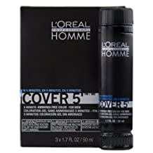 Loreal Homme Cover 5 - Ammonia Free 5-minute Color for Men (4 Dark Brown) by L'Oreal Paris