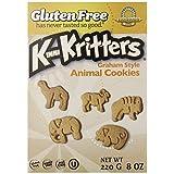Kinnikinnick Gluten Free Animal Graham Cookies, 8 Ounce (Pack of 6) by Kinnikinnick