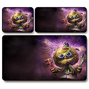 GW Great inventor black Moding Ge LOL League oversized mouse pad custom , 44 * 35 * 0.4 cm